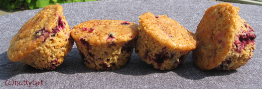 Black Currant Muffins