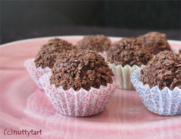 Chocolate Oat Balls