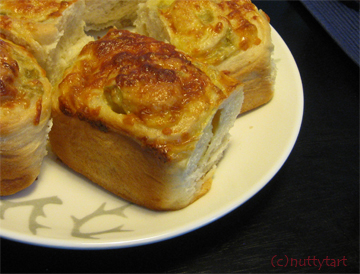 Cheese and chilli rolls