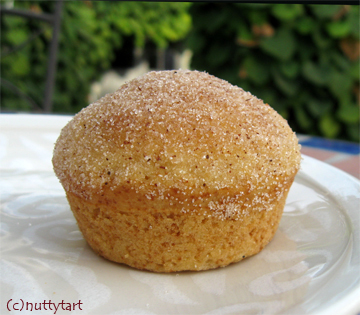 Sugar Cinnamon Muffins